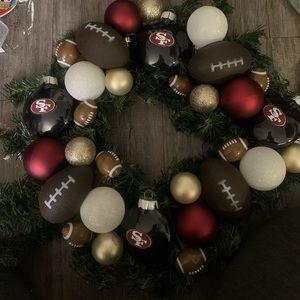 49rs Christmas Wreath